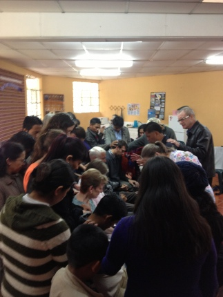 ASELSI Staff meets for prayer